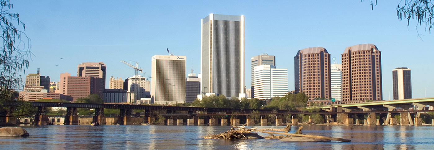 City of Richmond and James River
